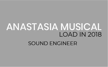 Load In Anastasia El Musical