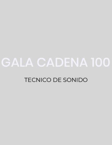 Gala Cadena 100
