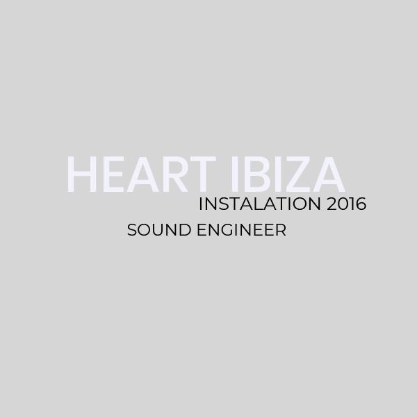 Instalación Heart Ibiza