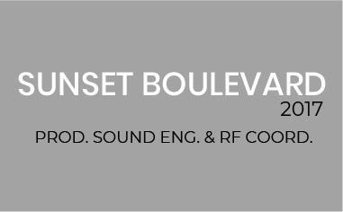 Sunset Boulevard el Musical